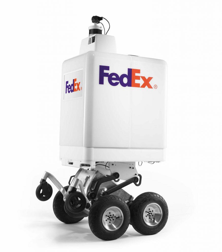 Sameday Bot: fedex consegna con il robot